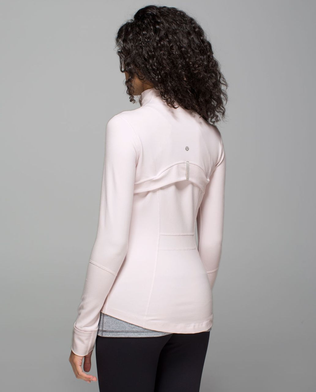 Lululemon Define Jacket - Neutral Blush / Tonka Stripe Heathered Slate White