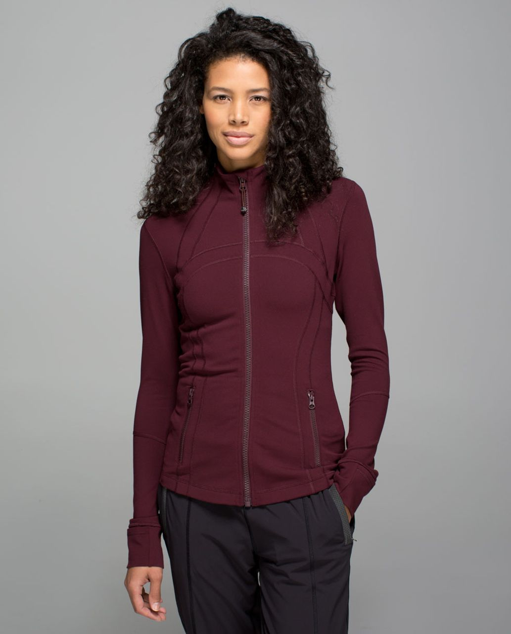 Lululemon Define Jacket - Bordeaux Drama