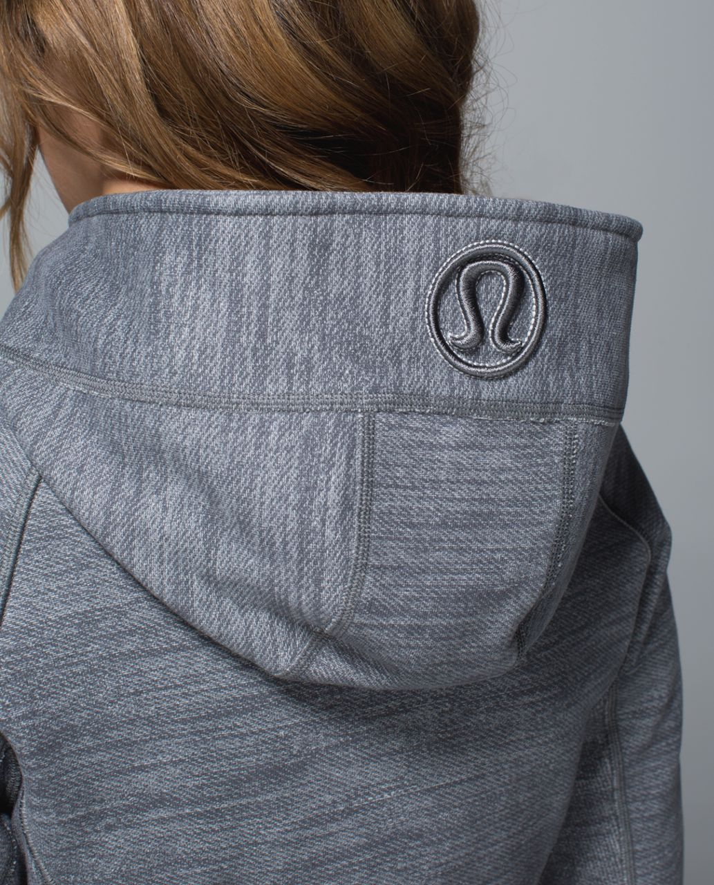 Lululemon Scuba Hoodie II - Commuter Denim Slate / Silver Spoon