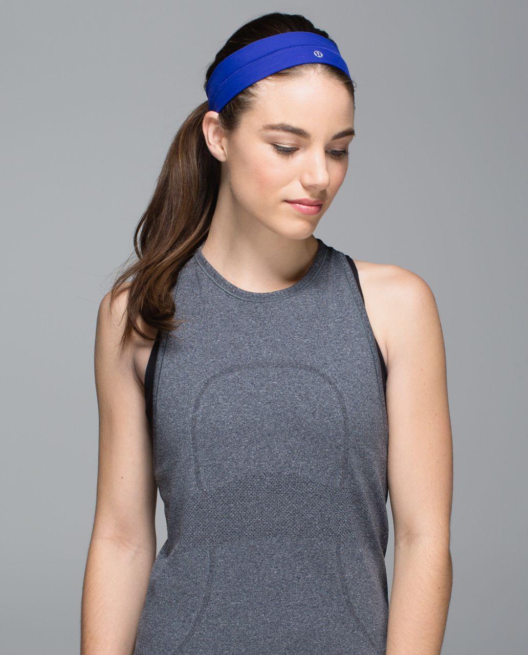 Lululemon Fly Away Tamer Headband - Pigment Blue
