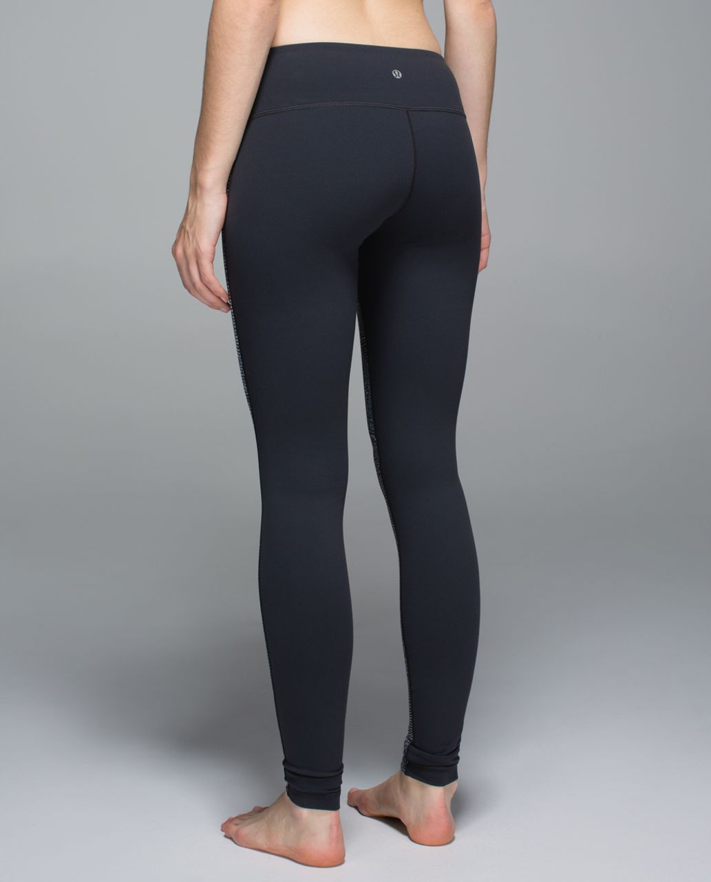 Lululemon Wunder Under Pant *Full-On Luon - Bead Envy Silver Spoon Multi / Deep Coal