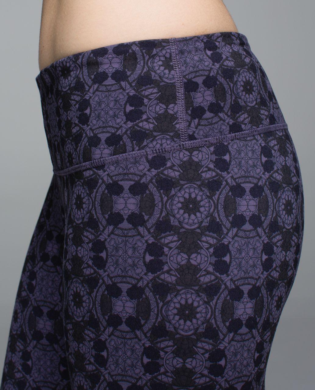 Lululemon Wunder Under Pant *Full-On Luon - Mini Prisma Nightfall Black Grape