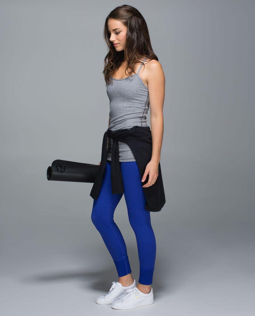 Lululemon Ebb To Street Pant - Heathered Pigment Blue