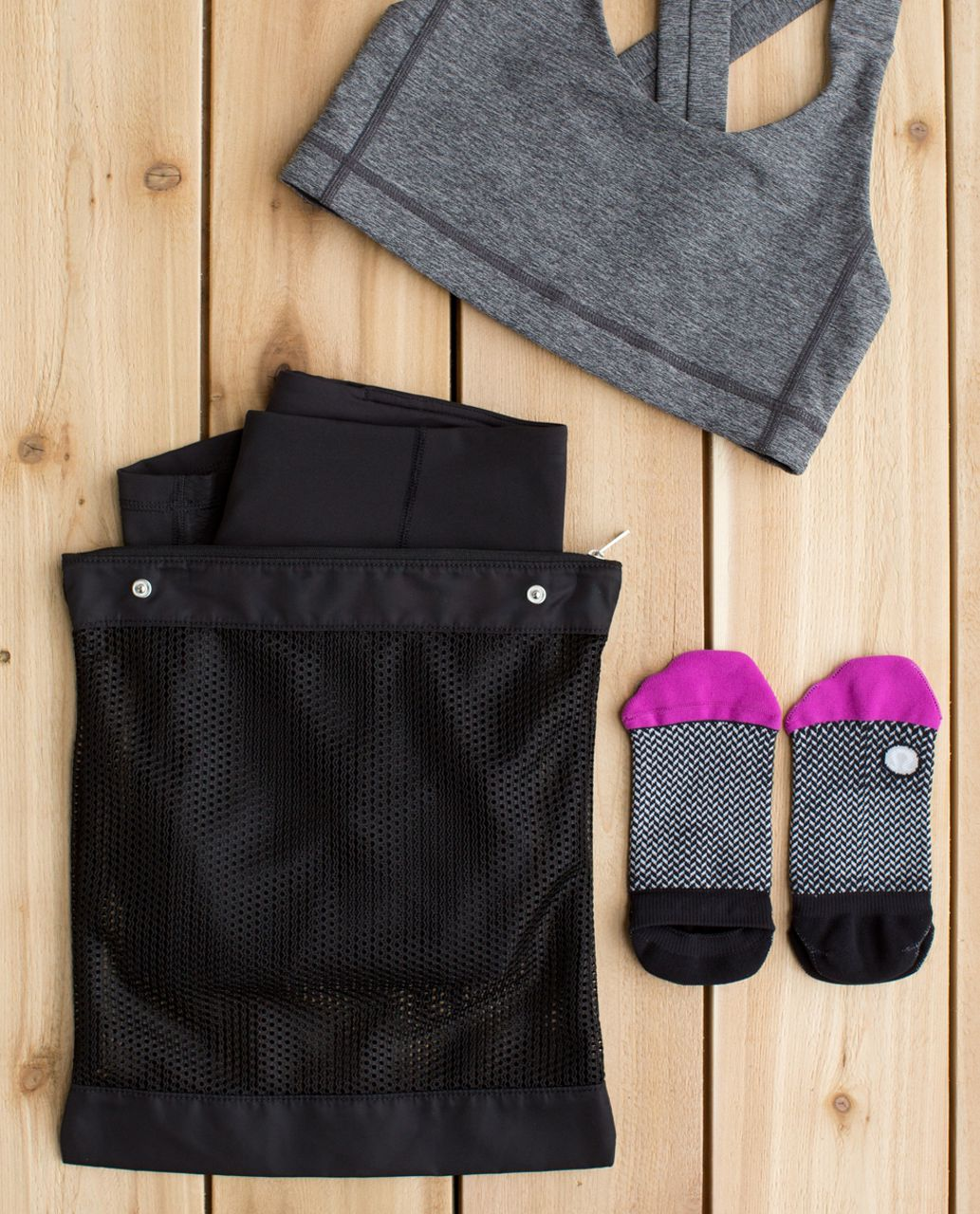 Lululemon Sweat Happens Liner Bags - Black