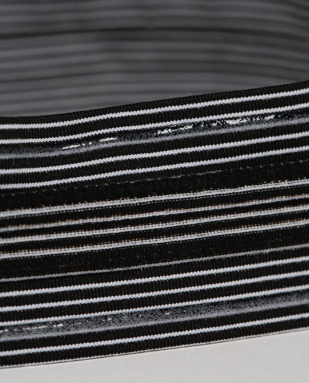 Lululemon Swiftly Headband - Black /  White
