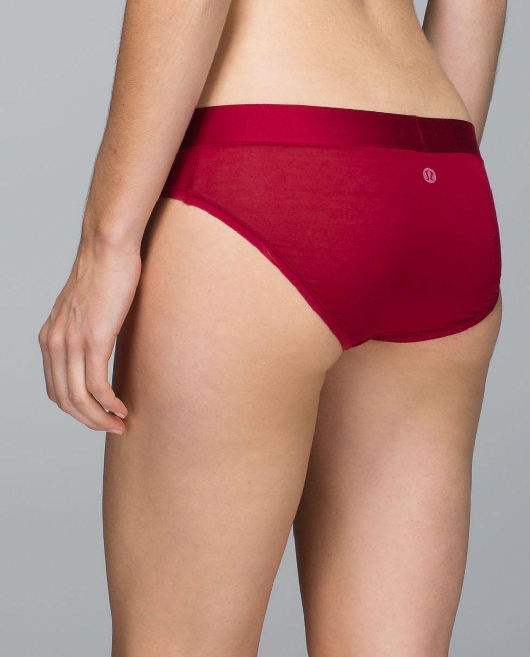 Lululemon Mula Bandhawear Bikini - Deepest Cranberry