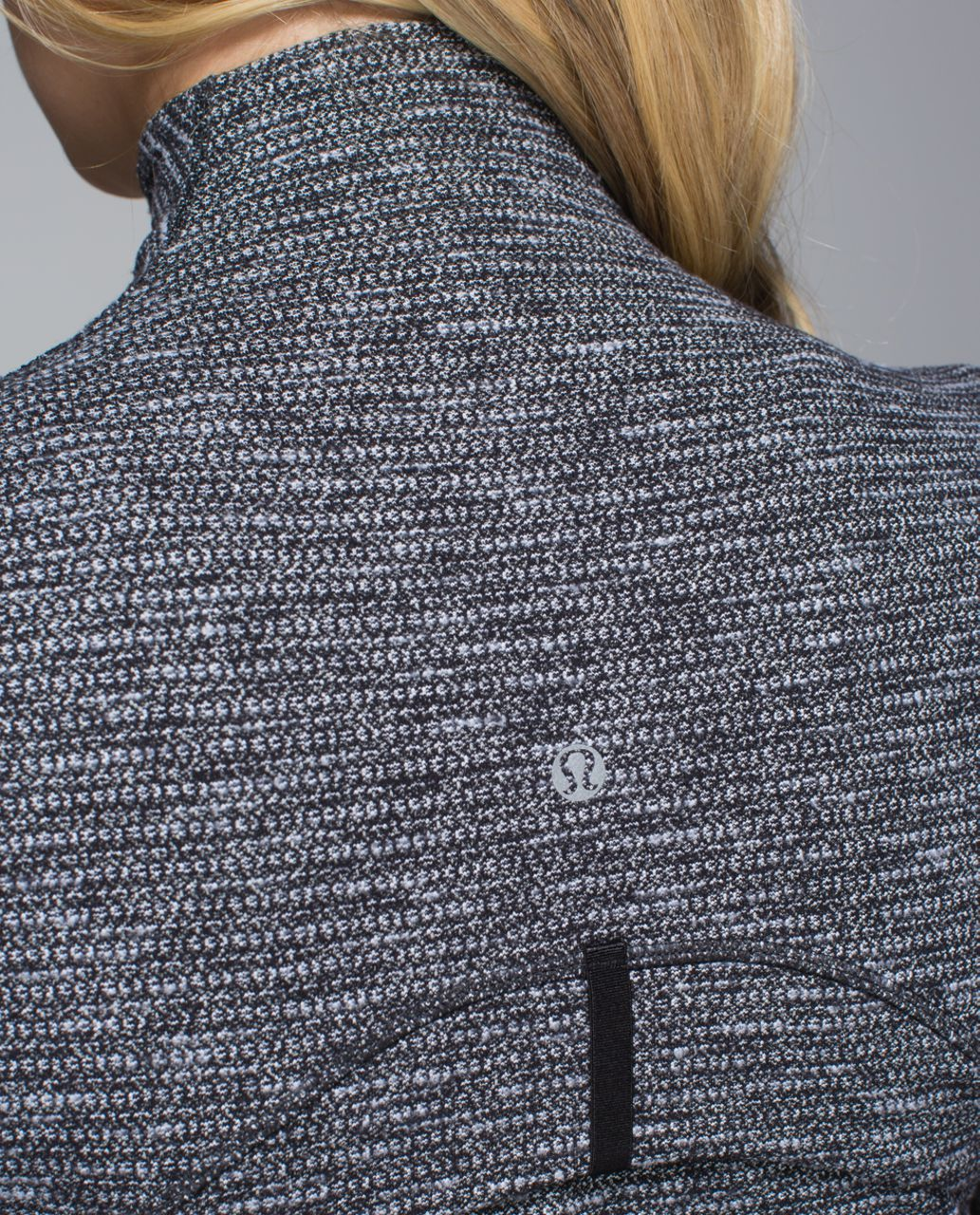 Lululemon Define Jacket - Coco Pique Black White