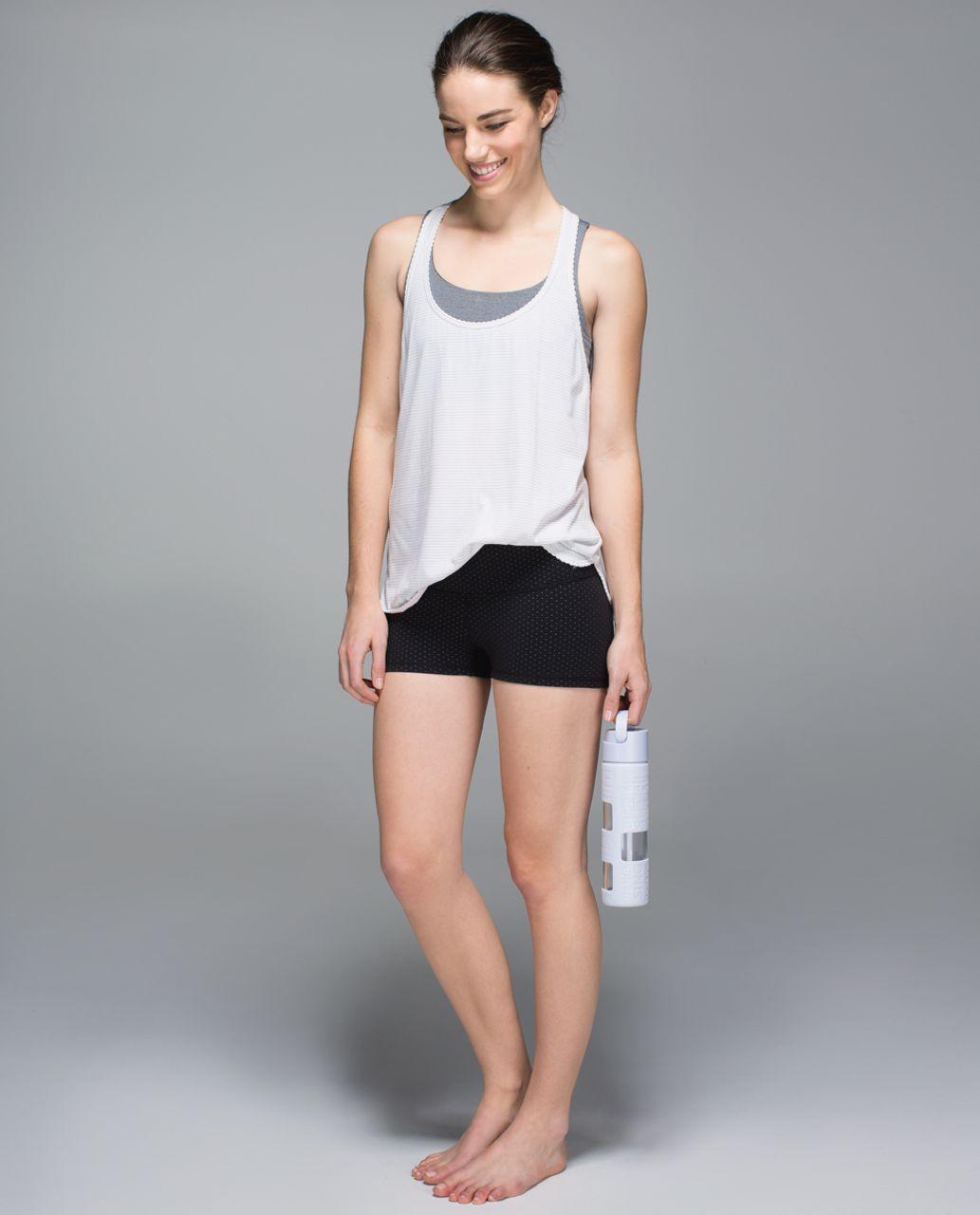 Lululemon Boogie Short - Teeny Dot Black White