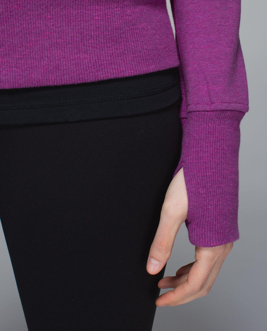 Lululemon Scuba Hoodie II - Heathered Marled Ultra Violet / Ultra Violet