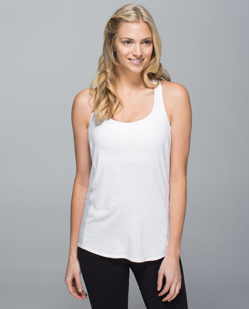 Lululemon Wild Tank - Heathered White / Neutral Blush