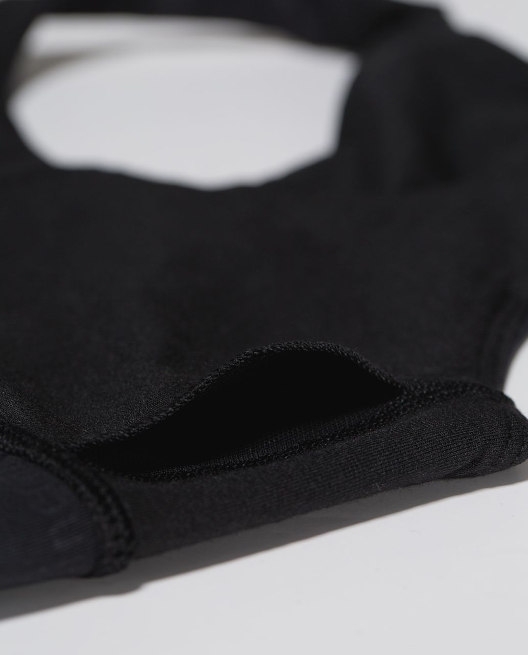 Lululemon 50 Rep Bra - Classic Manifesto Embossed Black / Black