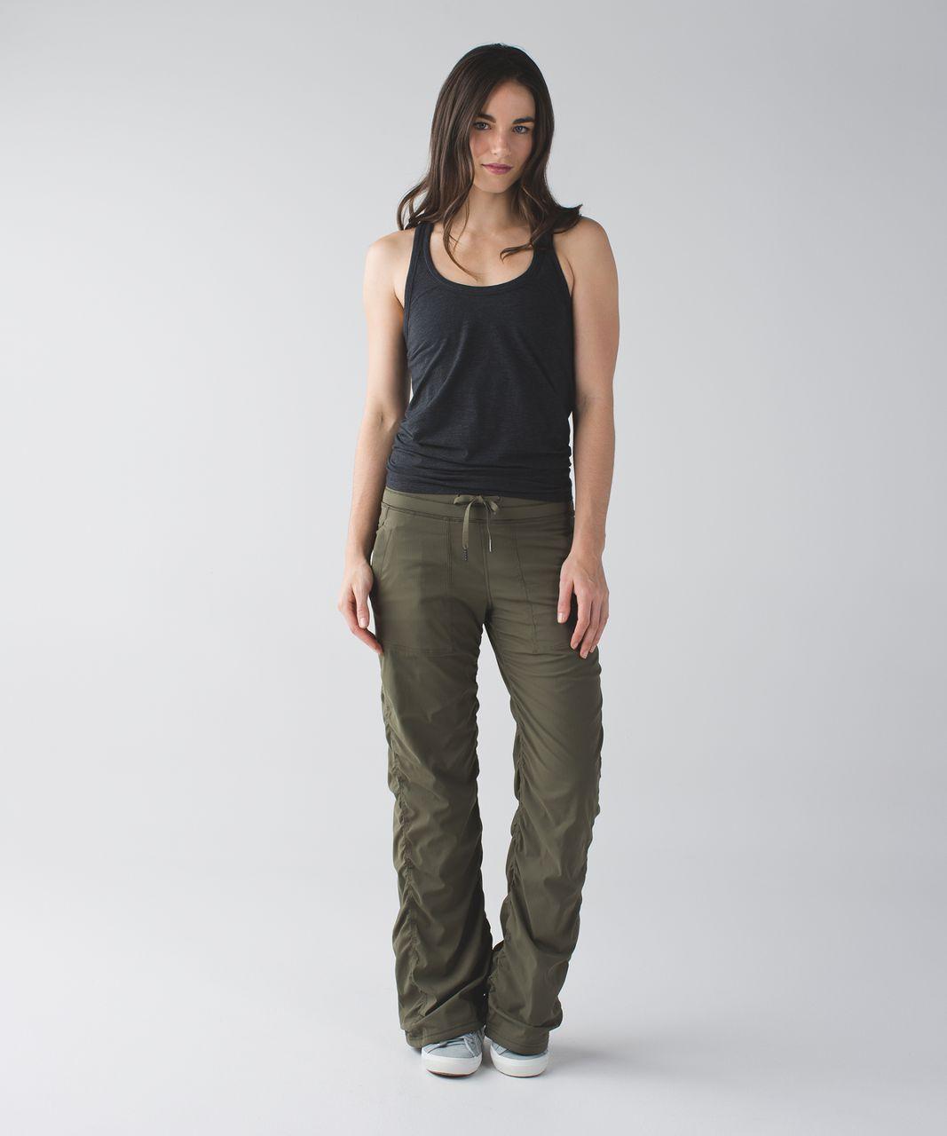 a2818c5ad Lululemon Studio Pant II  Lined (Regular) - Fatigue Green - lulu ...