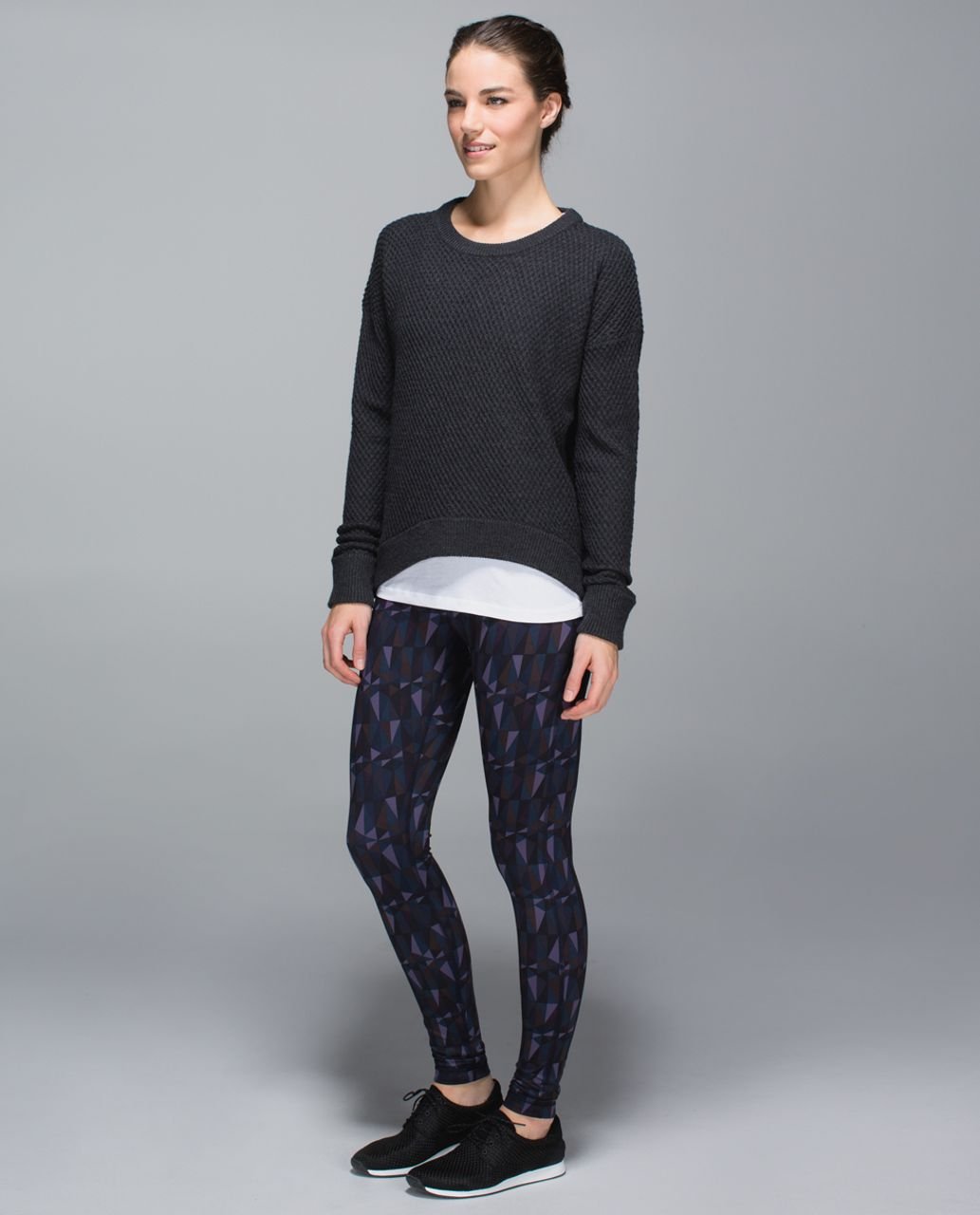 Lululemon Wunder Under Pant *Full-On Luon - Stained Glass Love Nightfall Black