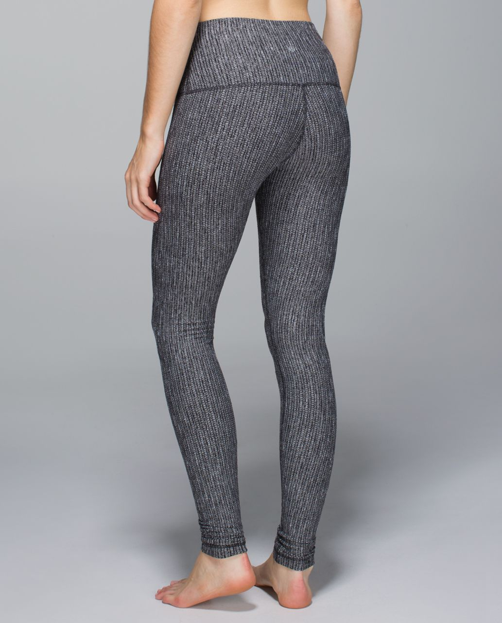 Lululemon Wunder Under Pant (Roll Down) - Coco Pique Black