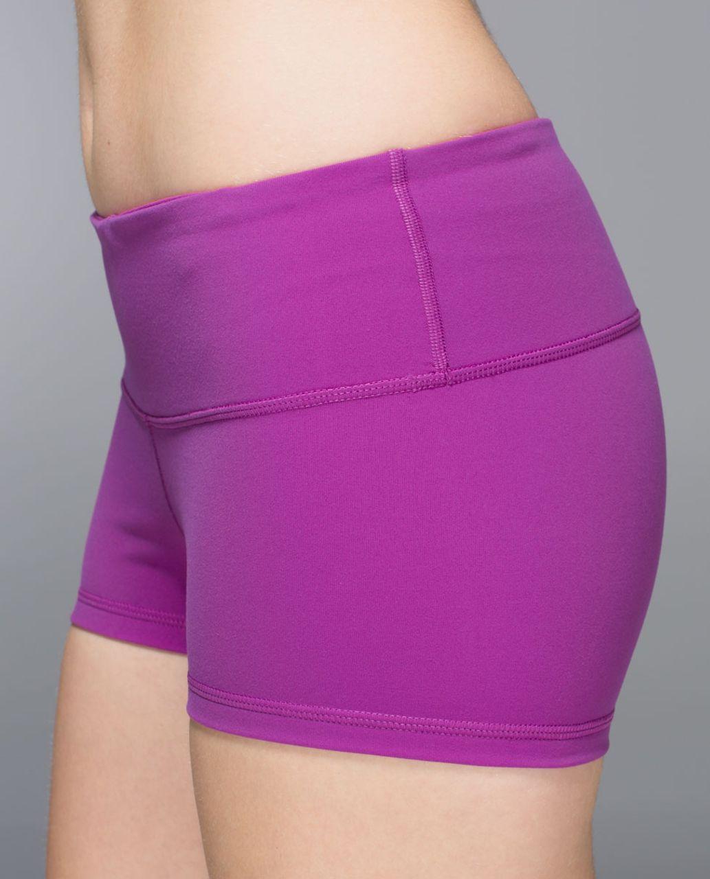 Lululemon Boogie Short *Full-On Luon - Ultra Violet