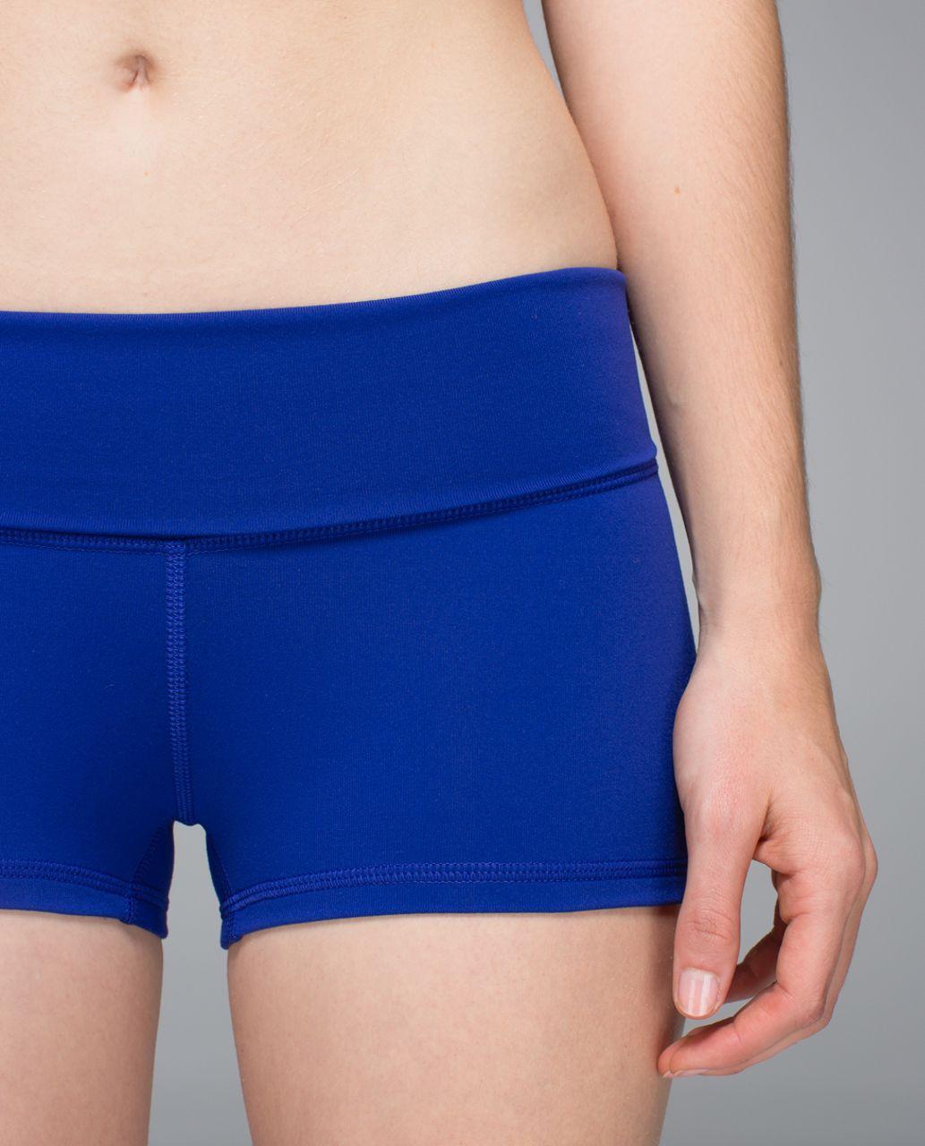 Lululemon Boogie Short (Roll Down) *Full-On Luon - Pigment Blue
