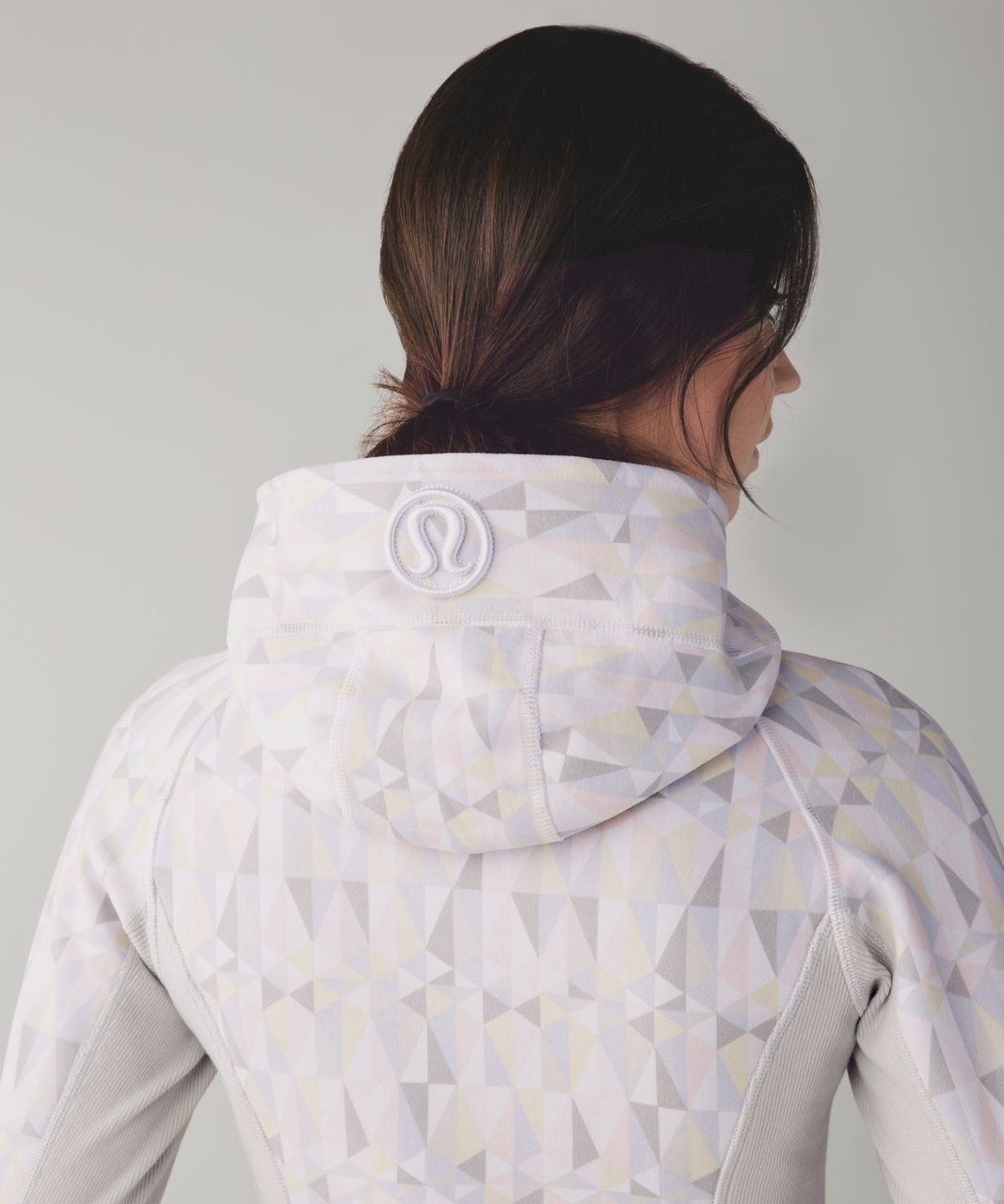 Lululemon Scuba Hoodie II - Stained Glass Love White Neutral Blush / Whisper Pink / Nimbus
