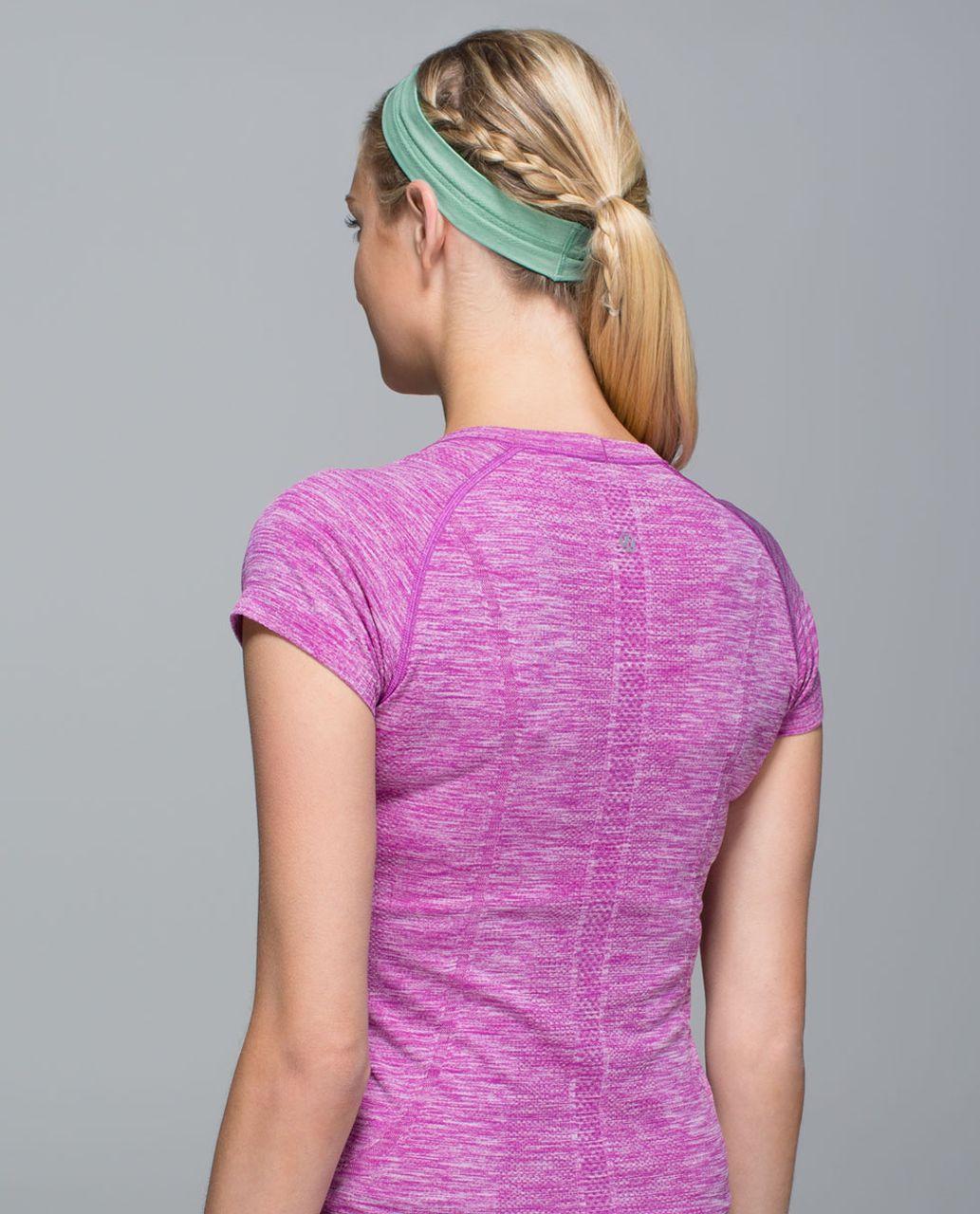 Lululemon Swiftly Headband - Space Dye Heathered Menthol