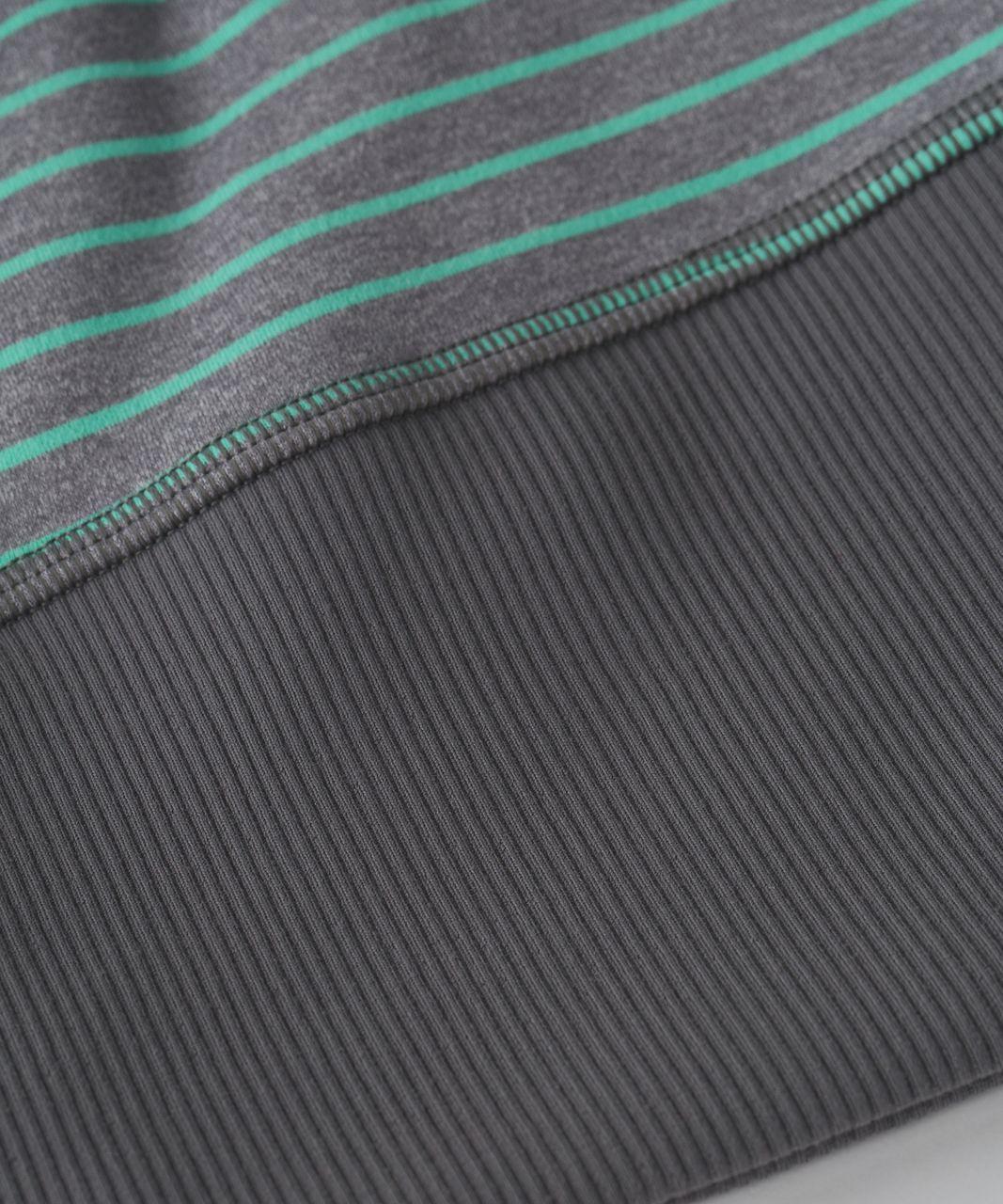Lululemon Run With Me Toque - Parallel Stripe Menthol Heathered Slate / Heathered Slate / Slate