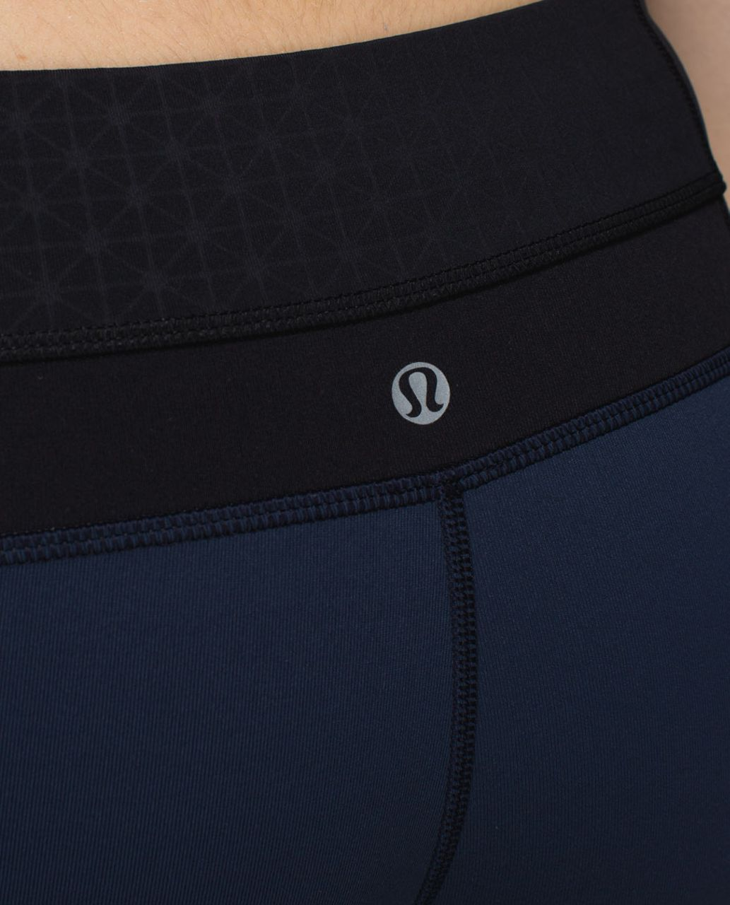 Lululemon Groove Pant *Full-On Luon (Regular) - Inkwell / Tri Geo Embossed Black / Black