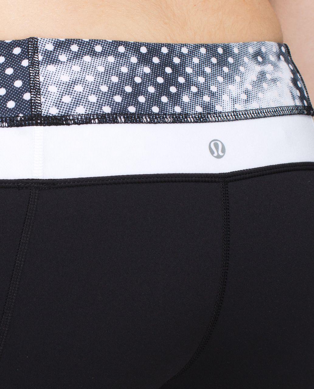 Lululemon Groove Pant *Full-On Luon (Tall) - Black / Dottie Dream Rose Neutral Blush Black / White