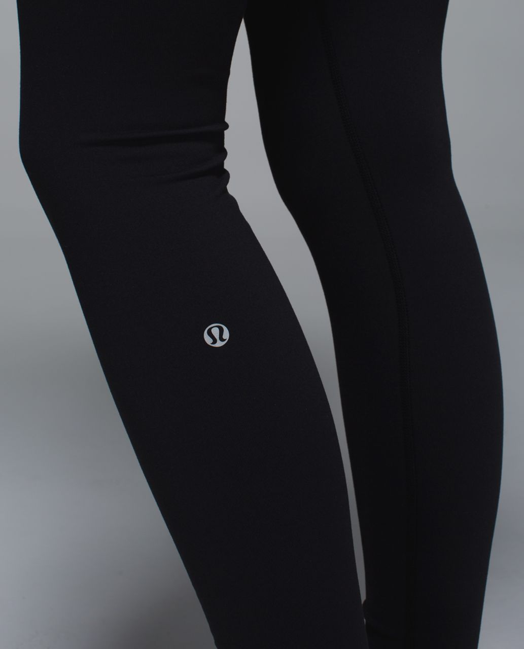 Lululemon Wunder Under Pant *Full-On Luon - Black / Wi14 Quilt 3