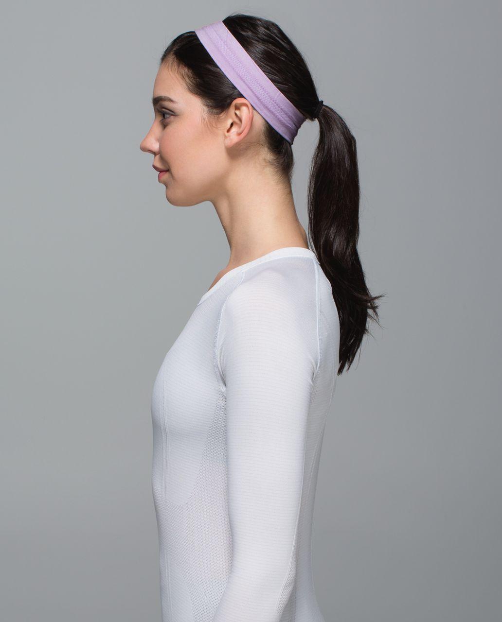 Lululemon Swiftly Headband - Space Dye Heathered Pretty Purple