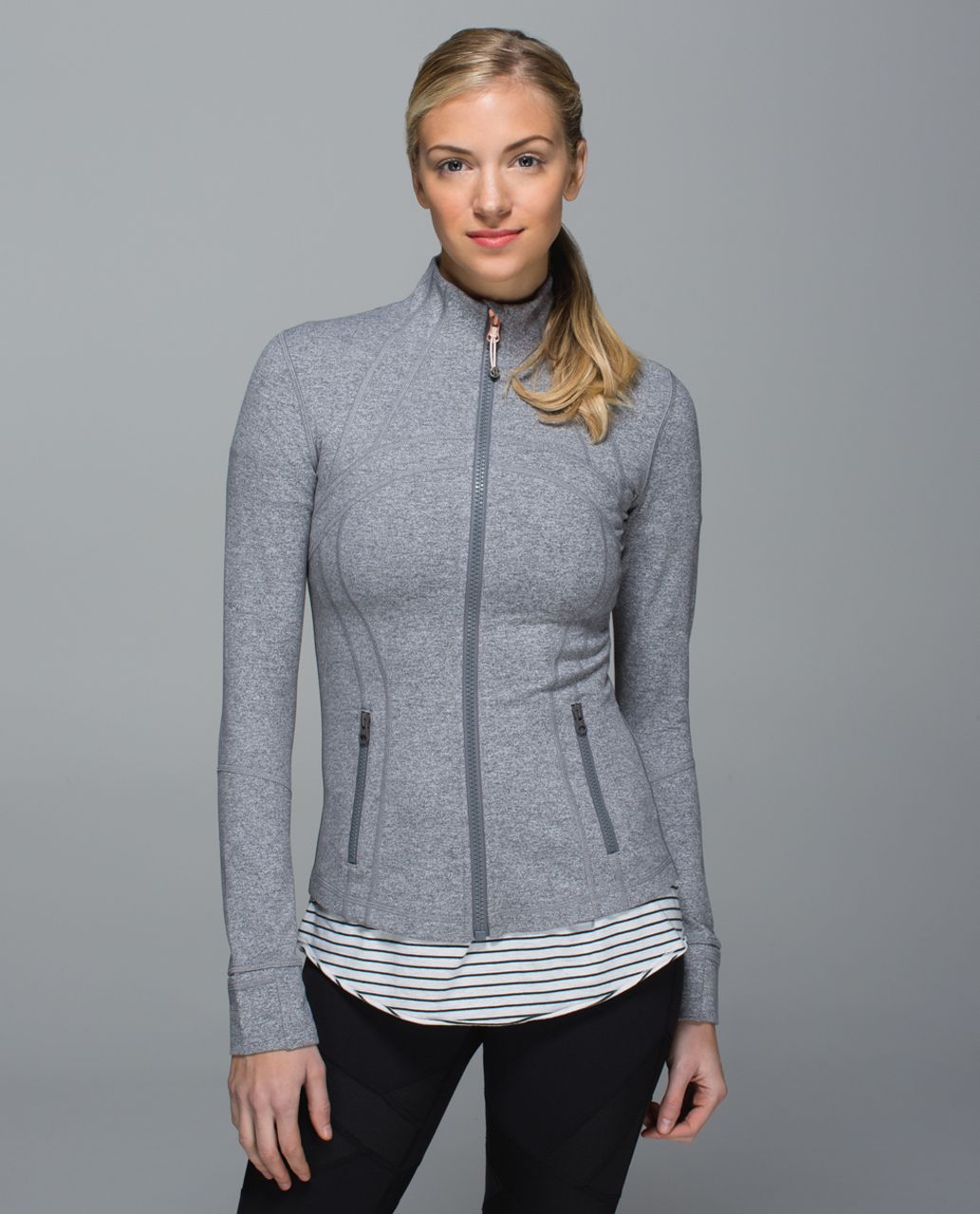 Lululemon Define Jacket - Heathered Slate
