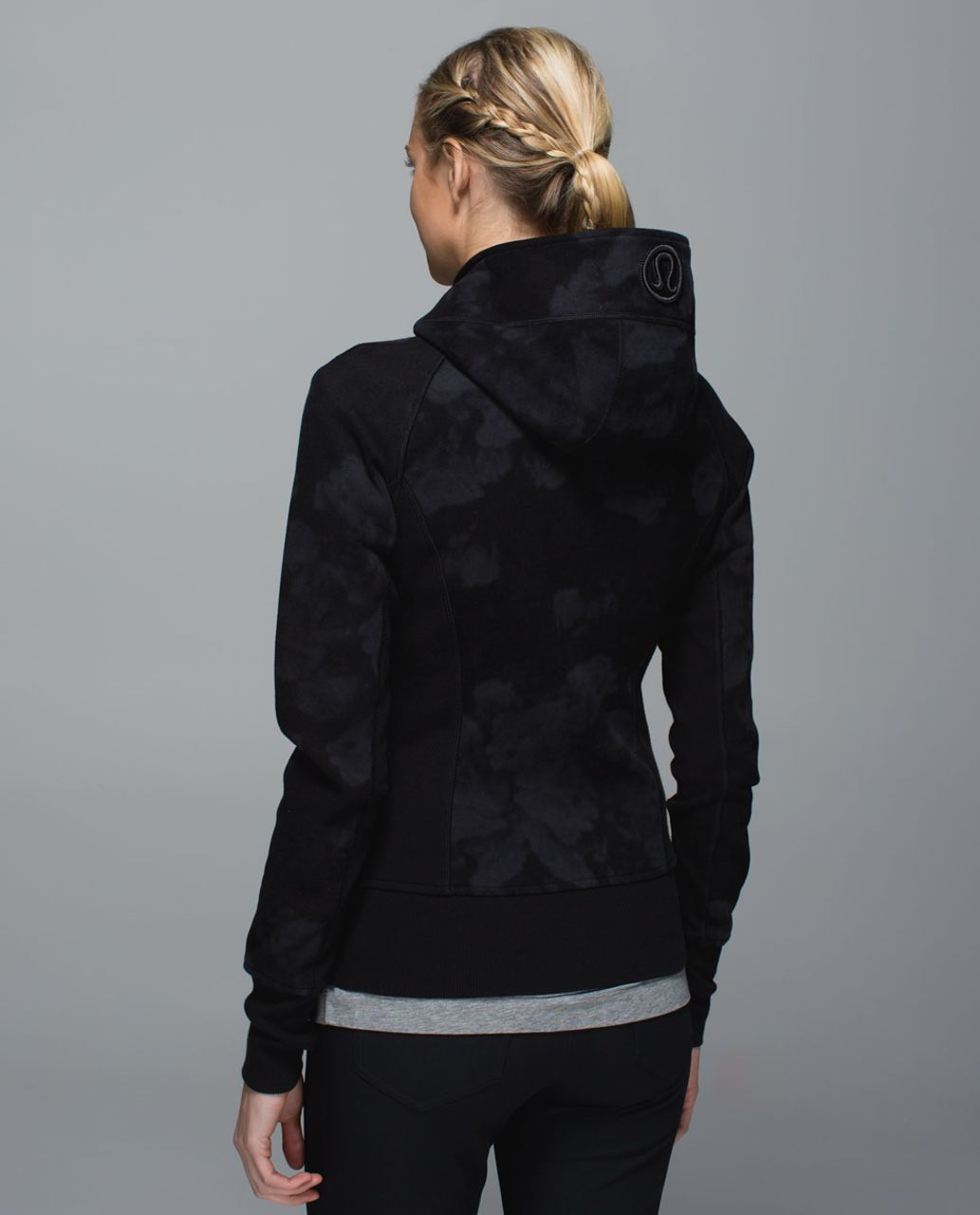 Lululemon Scuba Hoodie II - Dream Rose Deep Coal Black / Deep Coal
