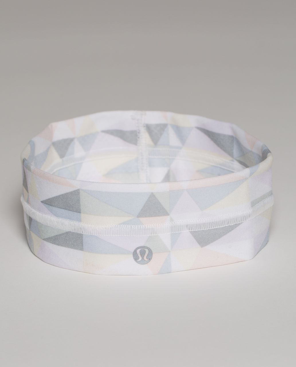 Lululemon Fly Away Tamer Headband - Stained Glass Love White Neutral Blush