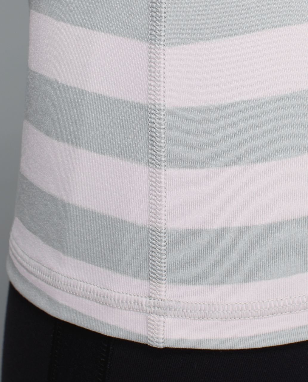 Lululemon Power Y Tank *Luon - Jet Stripe Heathered Silver Spoon Heathered Neutral Blush