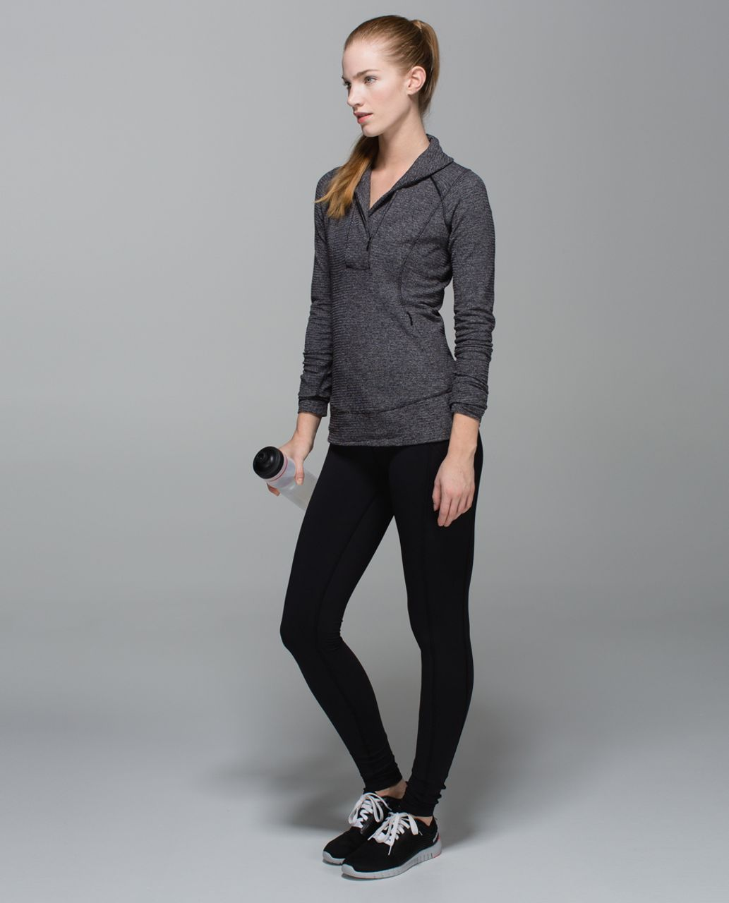 Lululemon Speed Tight II (Brushed) - Black / Wi14 Quilt 24