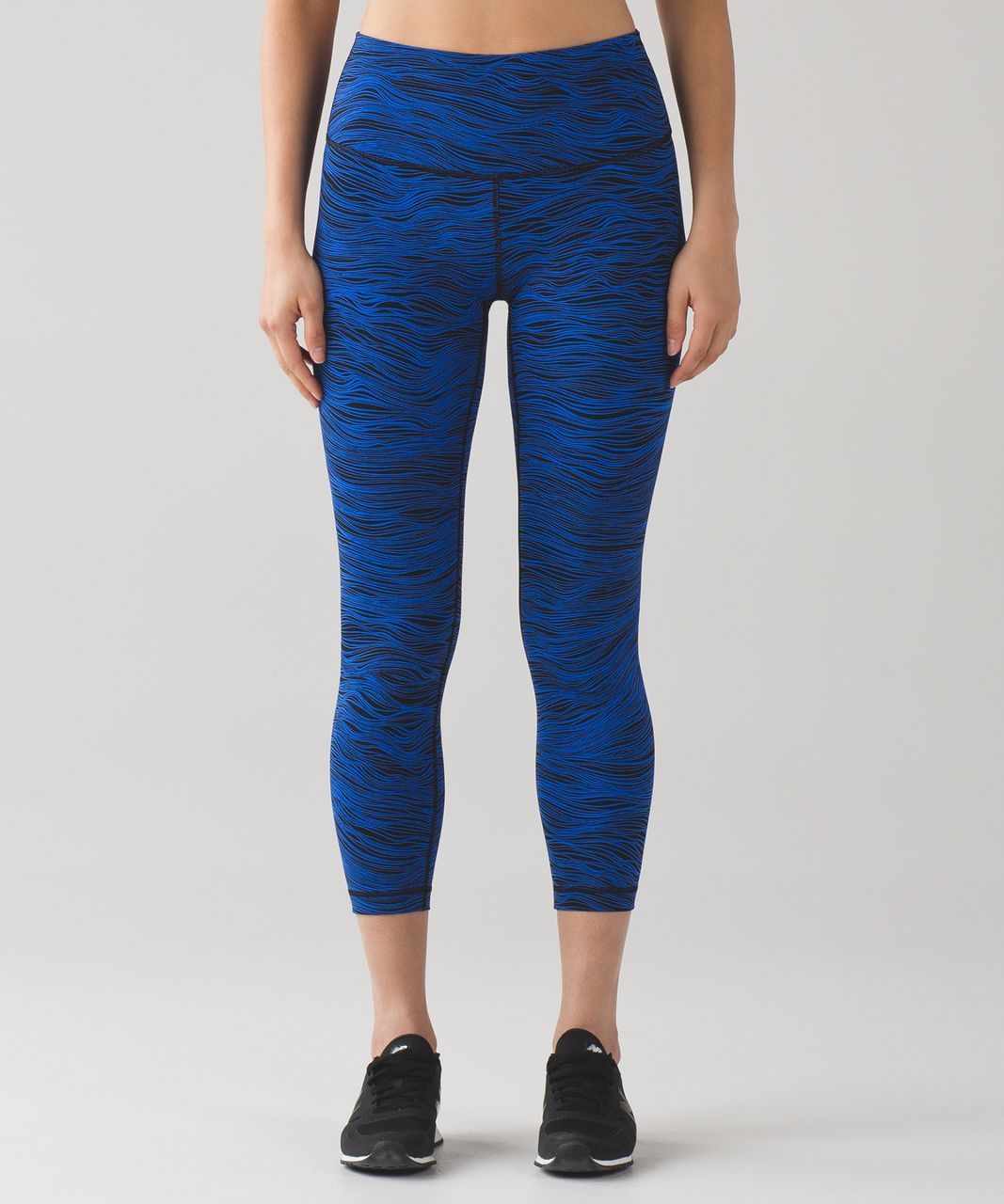Lululemon High Times Pant (Full-On Luxtreme) - Life Lines Cerulean Blue Black
