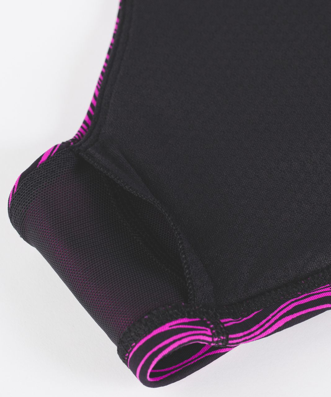 Lululemon Free To Be Bra - Life Lines Polar Pink Black
