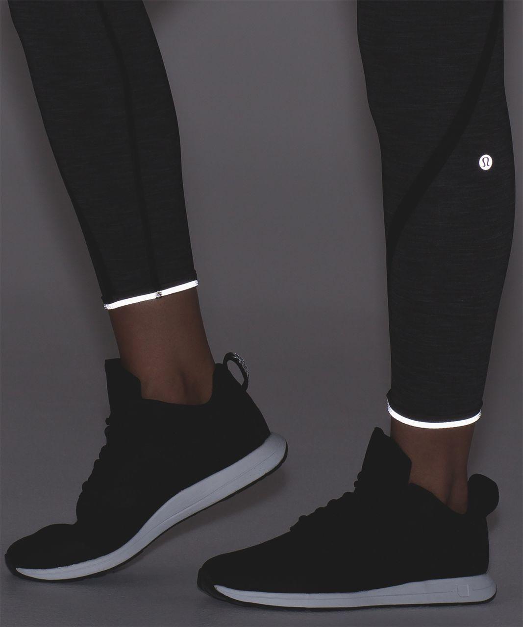 Lululemon On Track Tight - Heathered Black / Black
