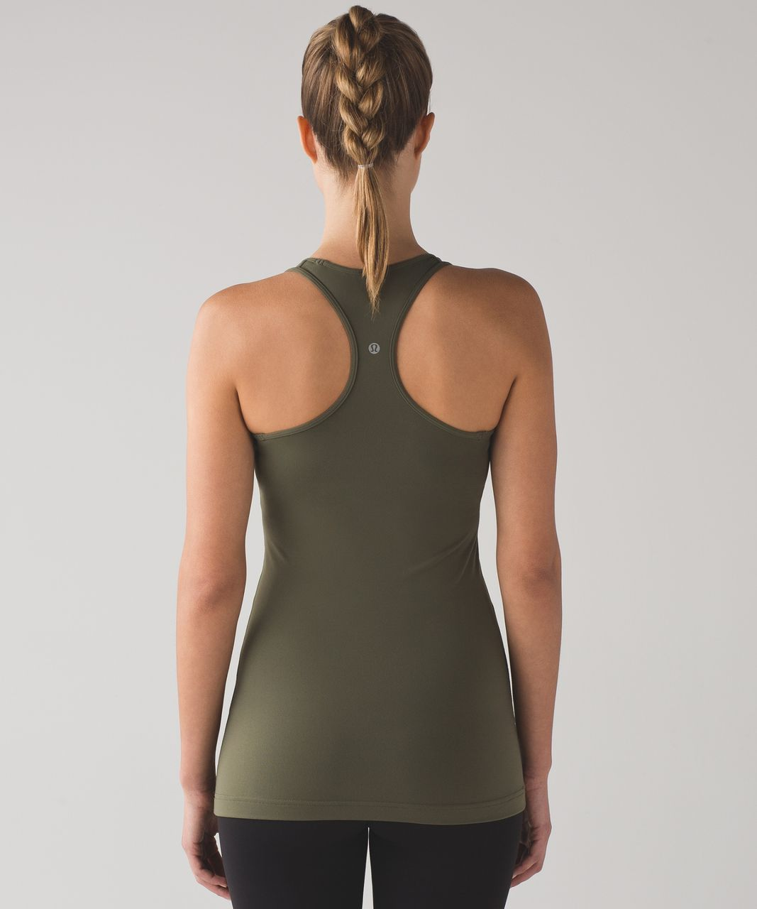 Lululemon Cool Racerback - Fatigue Green