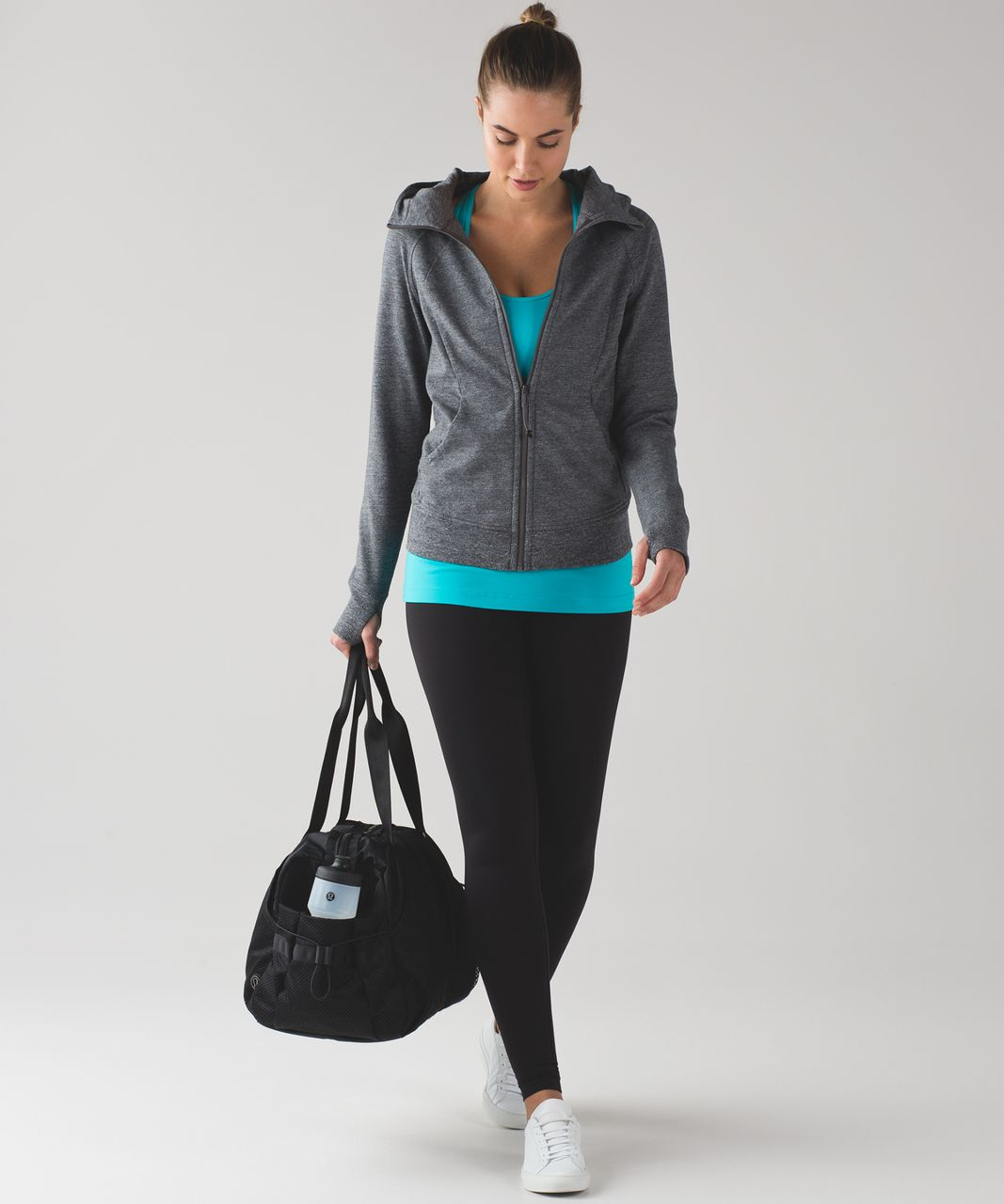 Lululemon Cool Racerback - Peacock Blue