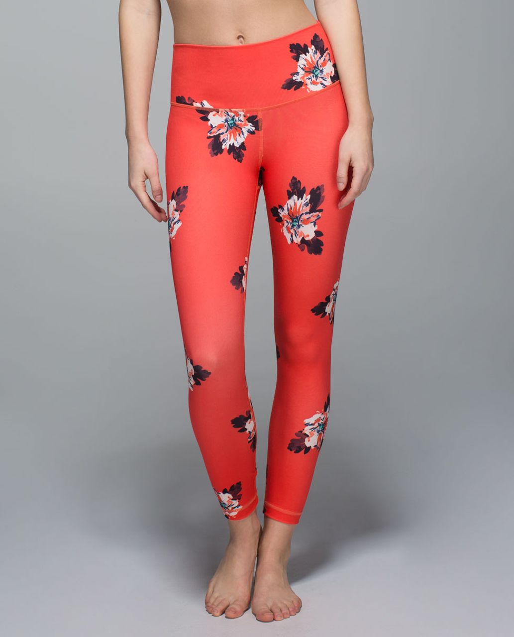 Lululemon High Times Pant - Atomic Flower Parfait Pink Atomic Red