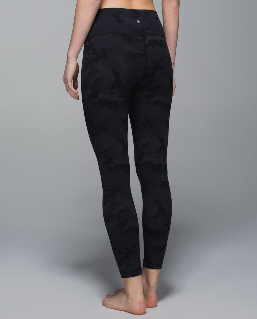 Lululemon High Times Pant - Savasana Camo 20cm New Black / Soot