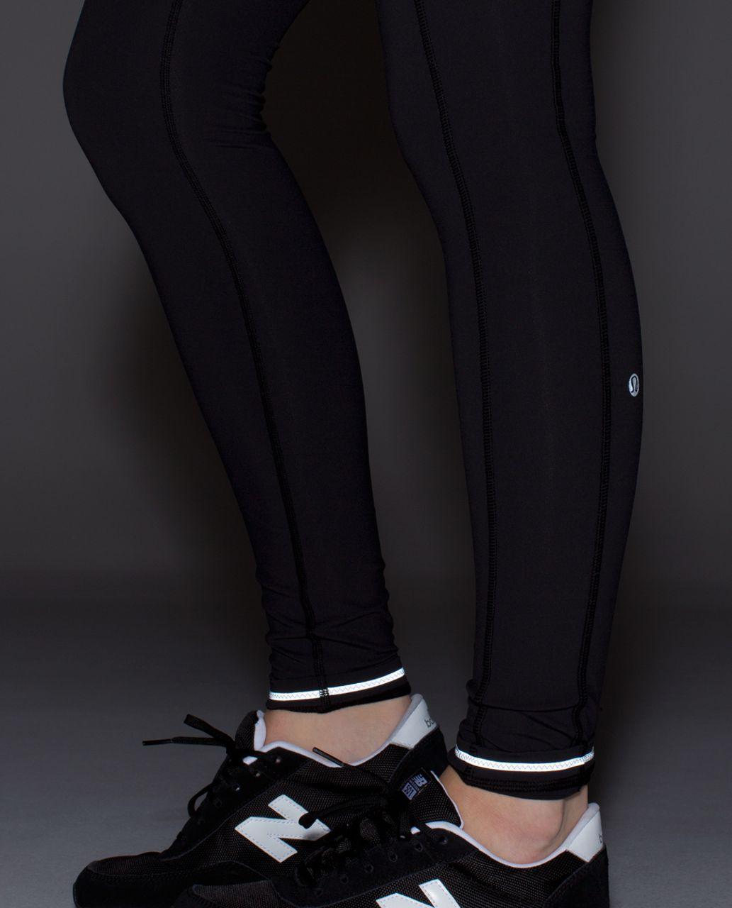 Lululemon Speed Tight II (Brushed) - Black / Dottie Dream Rose Neutral Blush Black