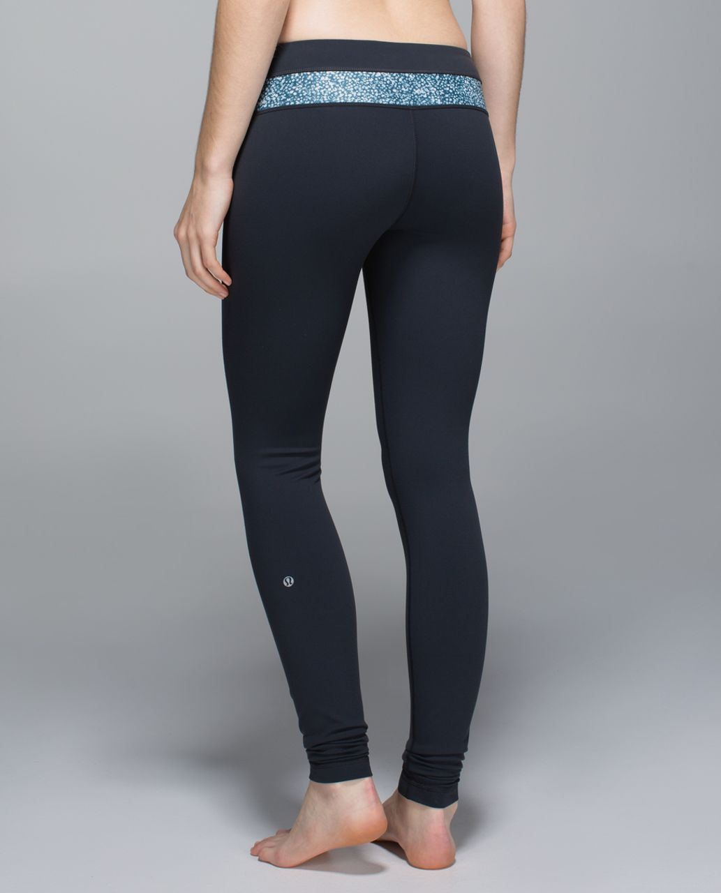 Lululemon Wunder Under Pant *Full-On Luon - Deep Coal / Wi14 Quilt 6