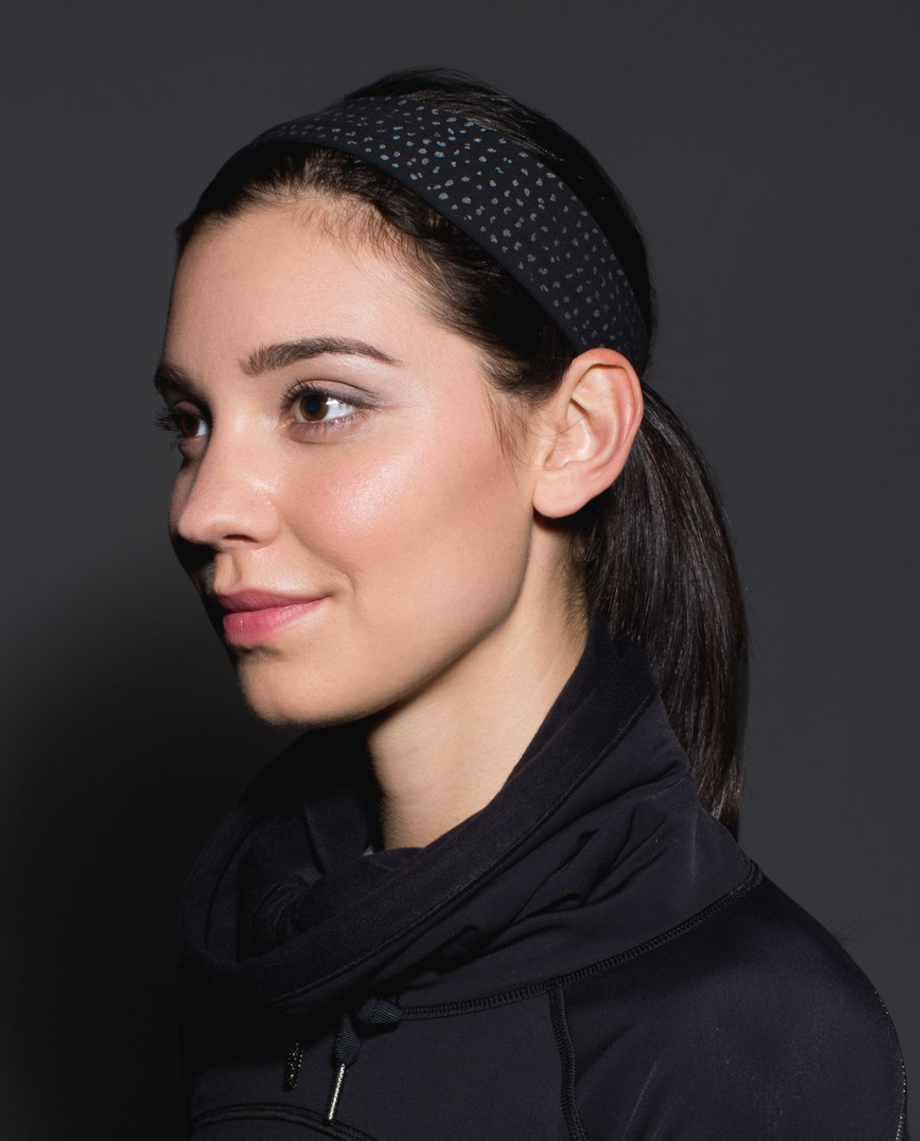 Lululemon Fly Away Tamer Headband *Reflective - Black