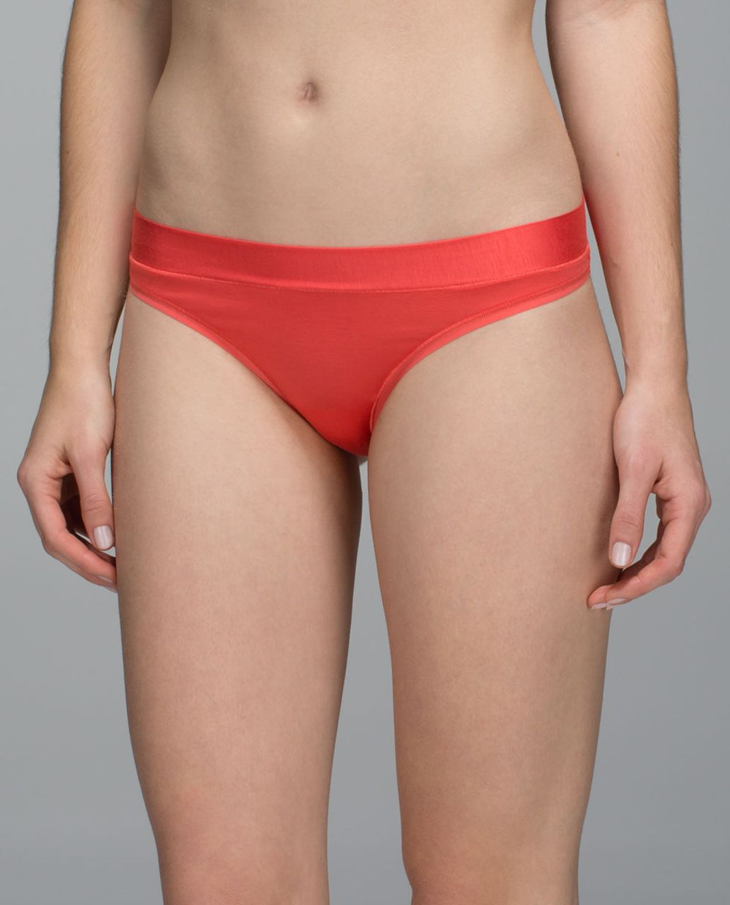 Lululemon Mula Bandhawear Thong - Atomic Red
