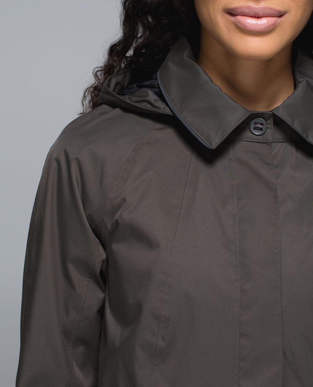 Lululemon Rain On Jacket - Dark Wren