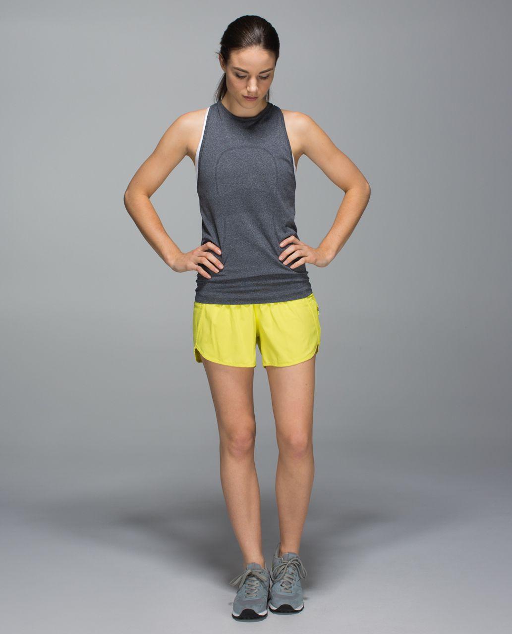 Lululemon Tracker Short II *4-way Stretch - Split Pea