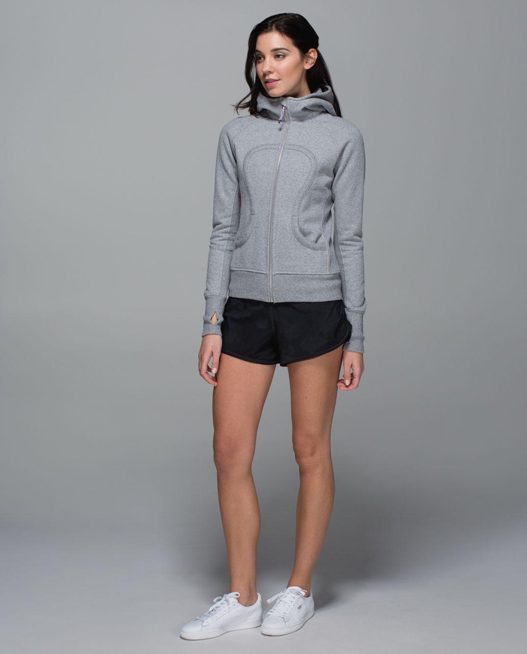 Lululemon Scuba Hoodie II - Heathered Speckled Medium Grey / Ambient Grey