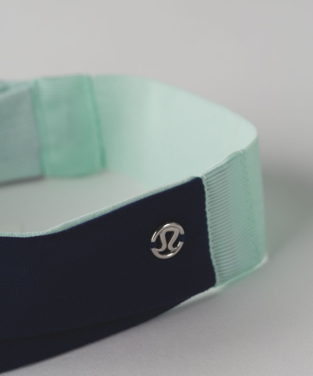 Lululemon Fringe Fighter Headband - Hero Blue / Sea Mist