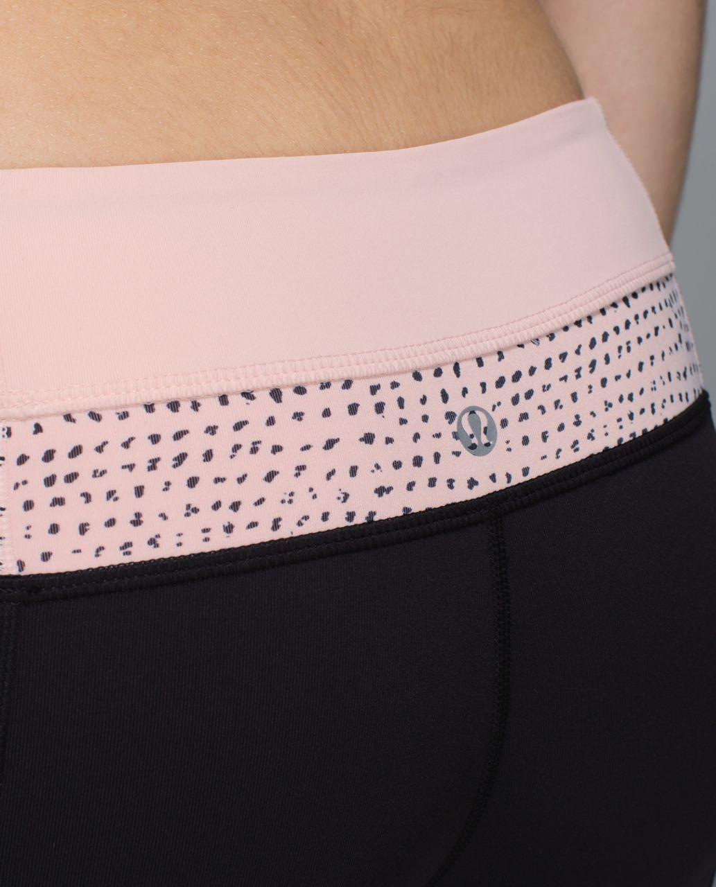 Lululemon Groove Pant *Full-On Luon (Regular) - Black / Parfait Pink / Speckle Dot Parfait Pink Black