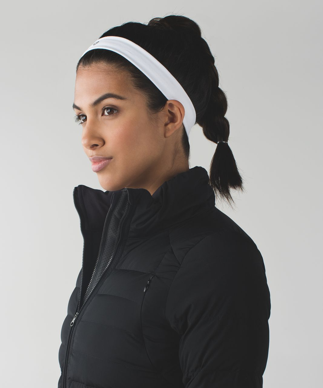 Lululemon Skinny Fly Away Tamer Headband - White - lulu fanatics 8d8d732dc5e