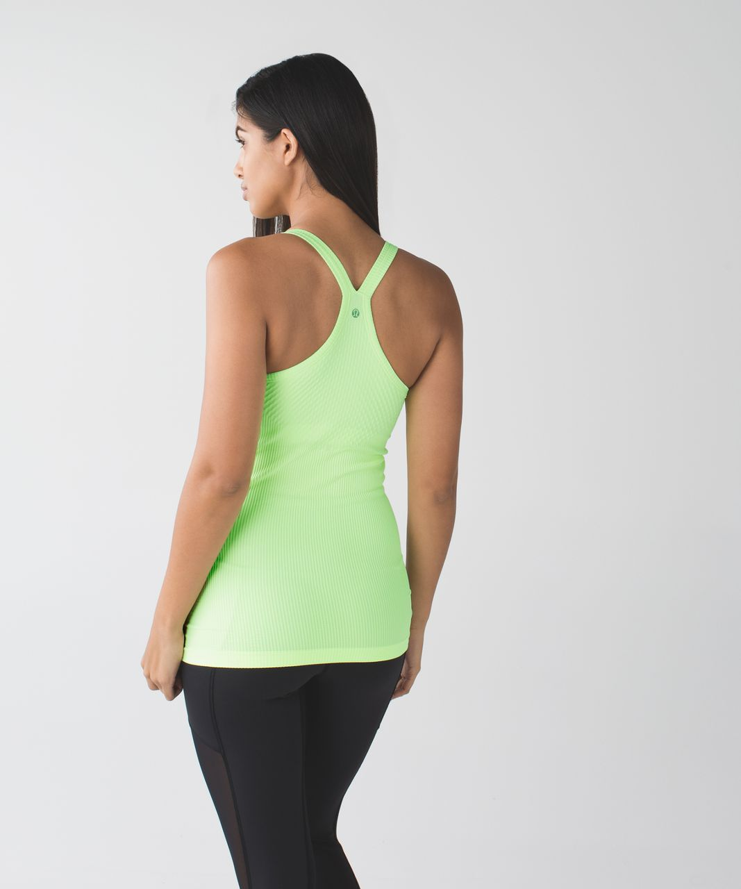 Lululemon Ebb To Street Tank - Heathered Clear Mint